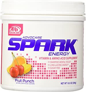 AdvoCare Spark Canister (Fruit Punch), 10.5 Ounce