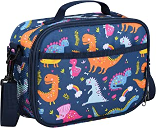 Momcozy Kids Lunch Bags for Boys, Insulated Lunch Kit for School and Travel, Compatible with Most Kids Lunch Box like Bentgo, DaCool, Bento, etc.(Dinosaur)