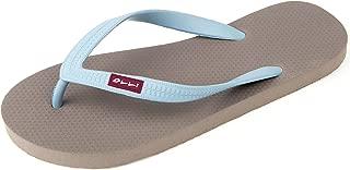 OLLI Flip Flops for Women - Fair Trade Natural Rubber - Eco Friendly & Vegan