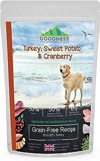 Goodness Turkey, Sweet Potato & Cranberry Grain Free Adult Dog Food - 500 g