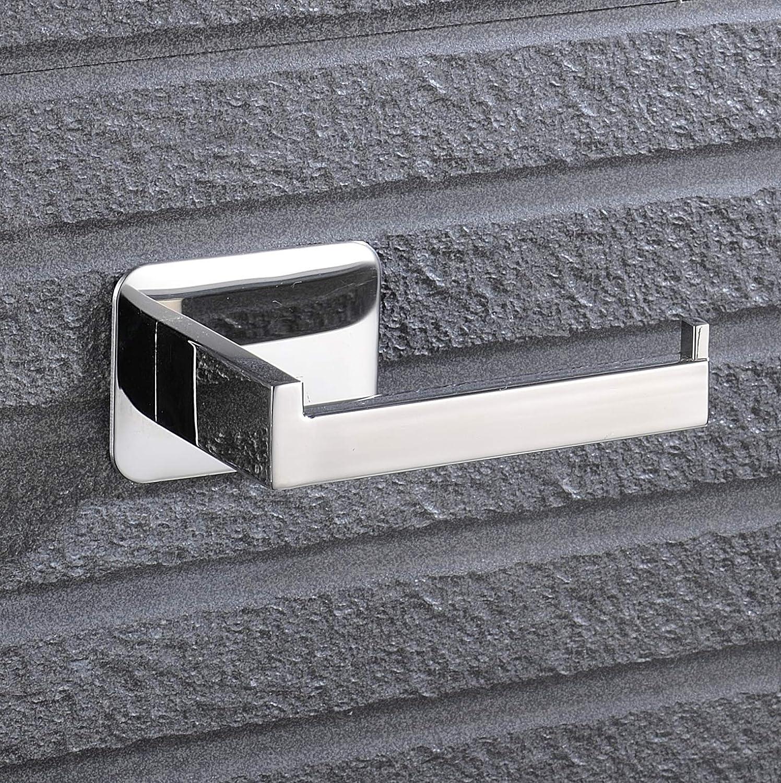 Klorollenhalter Selbstklebend Klopapierhalter 304 SUS Edelstahl f/ür Bad Und Geb/üsch-Finish Celbon Toilettenpapierhalter ohne Bohren