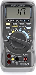 Kewtech KT117 Digital AC DC Multimeter  10A  600V