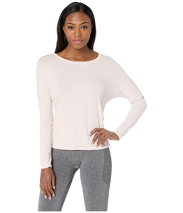 SKECHERS Performance Reformer Long Sleeve Top (Peach) Women