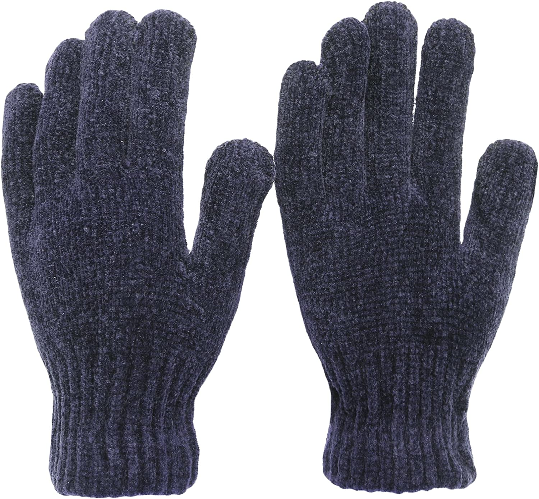 KMystic Basic Womens Chenille Winter Magic Gloves