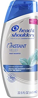 Head and Shoulders Instant Relief Daily-Use Anti-Dandruff Shampoo, 22.5 fl oz