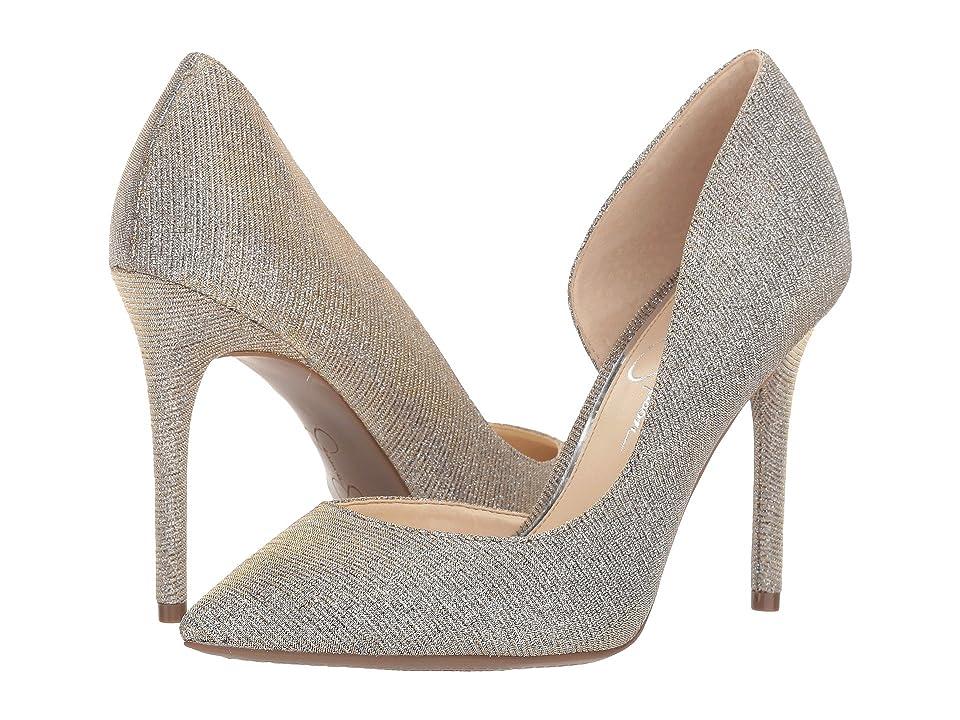 Jessica Simpson Lucina (Gold Multi Glitter Gabor) Women