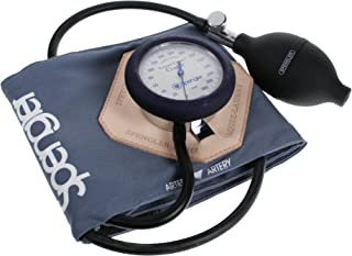 Spengler Vaquez-Laubry Classic - Tensiómetro con brazalete infantil y adulto (velcro, algodón, talla S), color gris