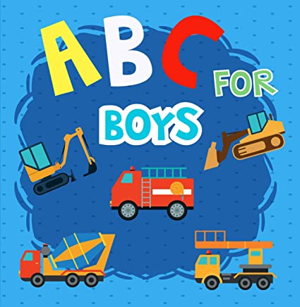 ABC For Boy: An Awesome Trucks ABC Book with Chinese name For Kids.Also This ABC Book For Age 2-5 To Learn English and Chinese Trucks Names From A to Z. (ABC Learning Book 3) (English Edition)