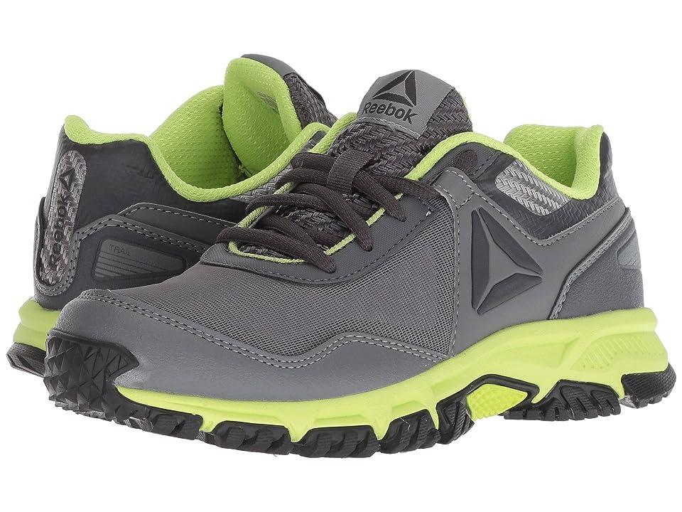 Reebok Kids Ridgerider Trail 3.0 (Little Kid/Big Kid) (Grey/Electric Flash) Boys Shoes
