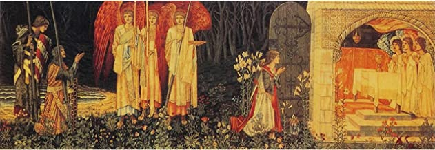 The Vision of The Holy Grail Tapestry by William Morris