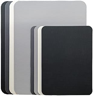 Simply Genius (8 Piece) Extra Thick Cutting Boards for Kitchen Prep, Non Slip Flexible Cutting Mat Set, Dishwasher Safe, B...