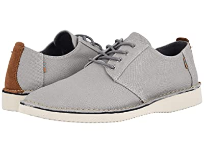 TOMS Preston (Drizzle Grey Textured Twill/Stitch Out) Men