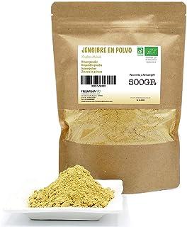 comprar comparacion FRISAFRAN - Jengibre en polvo Ecológico (500Gr)