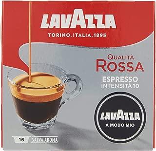Lavazza Capsule Caffè A Modo Mio Qualità Rossa - 2 confezioni da 16 capsule [32 capsule]