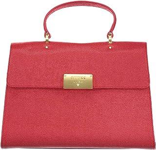 borsa guess luxe pelle rossa
