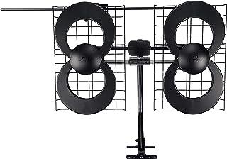 Antennas Direct Clearstream 4V TV Antenna, 70+ Mile Range, UHF/Vhf, Multi-Directional, Indoor, Attic, Outdoor, Mast W/Pivo...