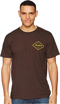 Toad&Co Pint Half Full Short Sleeve Tee
