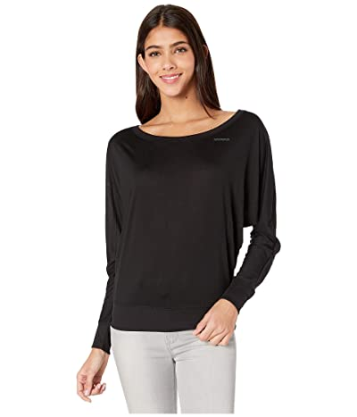 FOR BETTER NOT WORSE Best Thinks Long Sleeve Dolman Top (Black) Women