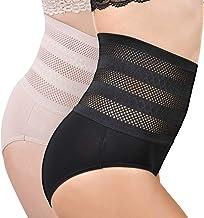 Libella Culotte Gainante pour Femme Panty Slip Taille Haute Effet Ventre Plat Gaine Amincissante Coton 3624