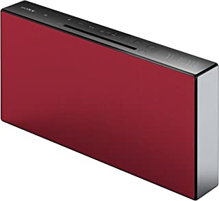 Sony 索尼 CMT-X3CD Micro-HiFi 系统 (CD, USB, 蓝牙, 20 瓦) 红色