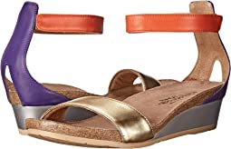 Gold Leather/Purple Leather/Orange Leather