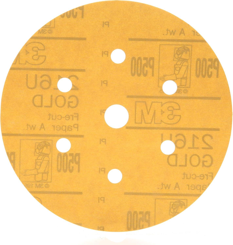 3M 01072 Hookit 216U Gold 6