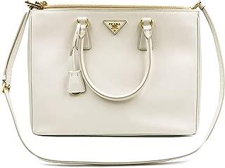 PRADA Saffiano Lux Galleria White Leather Ladies Tote 1BA786NZV