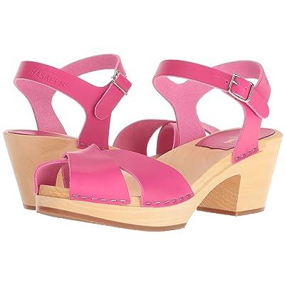 Swedish Hasbeens Mirja (Neon Pink) Women