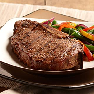 Omaha Steaks 4 (10 oz.) Bone-In New York Strips