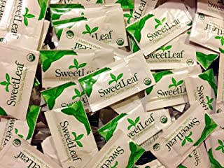SweetLeaf ORGANIC Natural Stevia Sweetener, 500 Packets