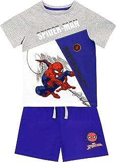 Marvel - Ensemble Short et T-Shirt - Spiderman - Garçon
