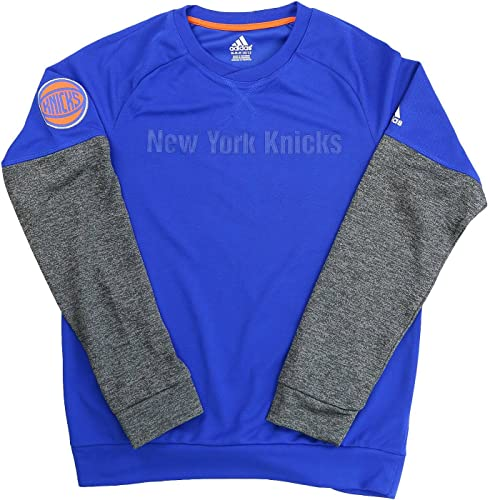 Adidas sur Cour nouveau York Knicks NBA Ventilateur Basketball Tee Sweat Shirt Youth Enfants