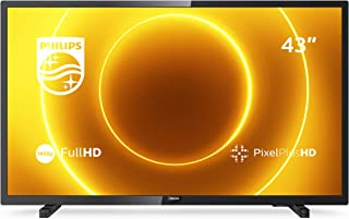 Philips 43PFS5505/12 43-inch LED-tv (Full HD, Pixel Plus HD, full-range luidspreker, 2 x HDMI, USB) zwart glanzend [modelj...