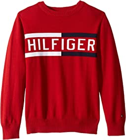 Hilfiger Logo Sweater (Toddler/Little Kids)