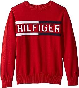 Hilfiger Logo Sweater (Toddler/Little Kids)
