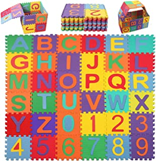 HemingWeigh Kid/'s Multicolored Numbers Puzzle Play Mat