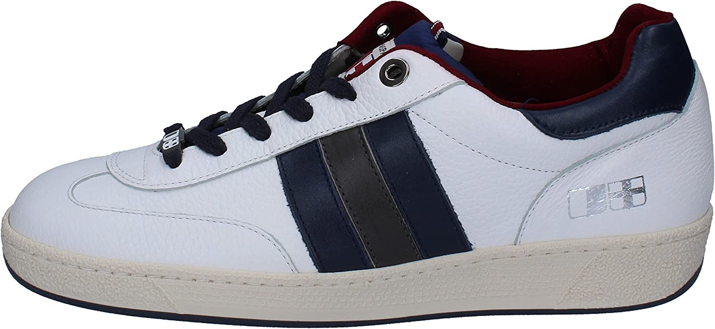 D'ACQUOSPARTA Mode -skor -skor -skor herr läder vit  wholesape billig
