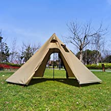 Outdoor Tenten tipi Tent Waterdicht Vier Seizoenen Familie Piramide Tent Camping Backpacken Wandelen Bergbeklimmen Verwarm...