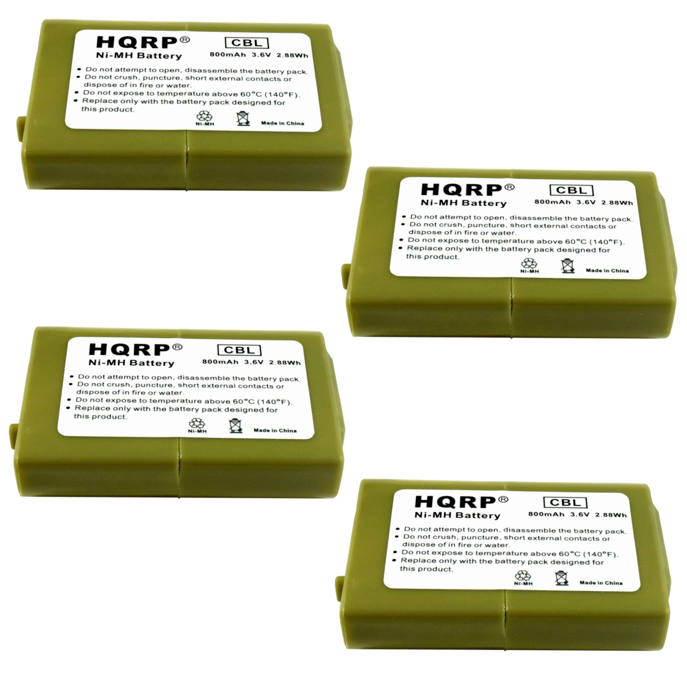 4 Bateria Para Panasonic HHR-P103 HHRP103 HHR-P103A HHRP103A