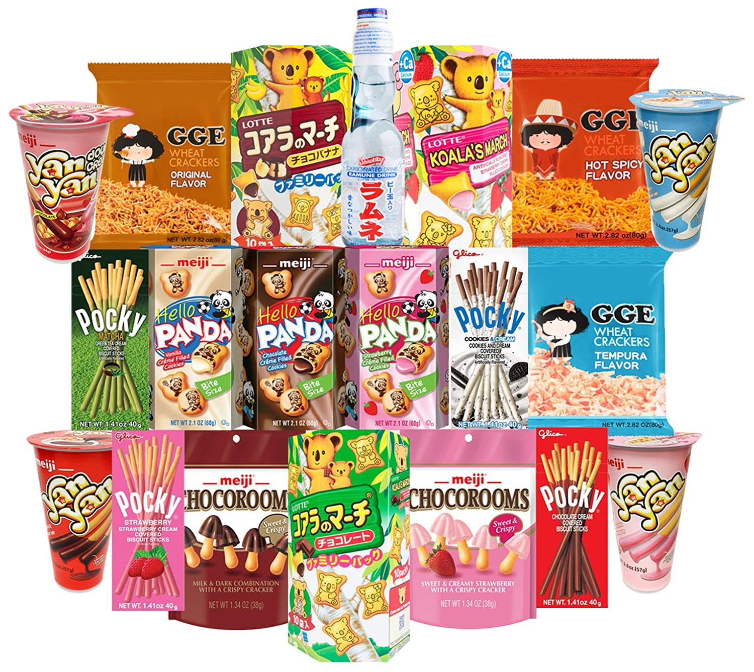Japanese Snacks and Drinks Max 40% OFF Care Package Snack Gift Box Count Ranking TOP1 20