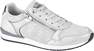 Cipriata Womens/Ladies Valentina Lace & Side Zip Trainers