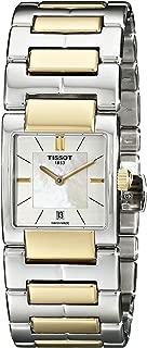 Women's TIST0903102211100 T2 Analog Display Swiss Quartz Two Tone Watch