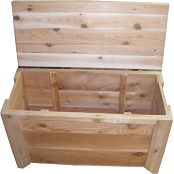 Cedar Chest Storage Bench Size 30 x 14 x 20 inches by Steve's Gift Shoppe