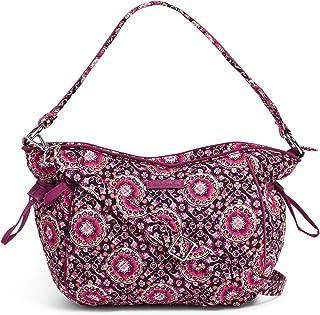 Vera Bradley Women's Iconic Glenna Hobo Bag, Signature Cotton Satchel
