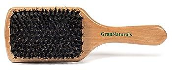 GranNaturals Boar Bristle Paddle Brush