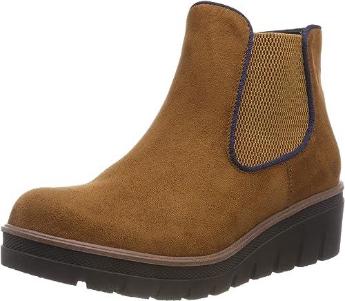 Rieker 99194, botas Chelsea para mujer