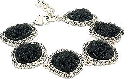 Pave Druzy Link Bracelet