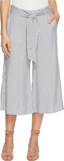 Selva Boyfriend Stripe Cropped Pants