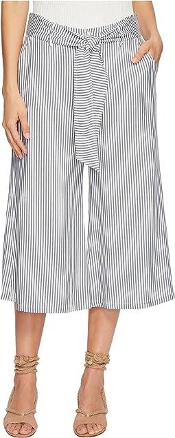 Jack by BB Dakota Selva Boyfriend Stripe Cropped Pants