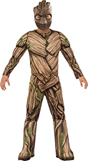 Rubie's Guardians of The Galaxy Vol. 2 Deluxe Muscle Chest Groot Costume, Small